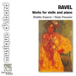 Ravel / Works for violin and piano