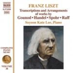 TRANSCRIPTIONS AND ARRANGEMENTS / FRANZ LISZT