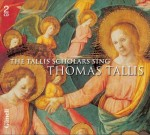 THE TALLIS SCHOLARS SING THOMAS TALLIS / 2 CD