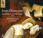 LACHRIMAE OR SEAVEN TEARES / JOHN DOWLAND