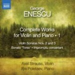 COMPLETE WORKS FOR VIOLIN AND PIANO / GEORGE ENESCU