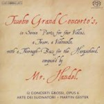 TWELVE GRAND CONCERTOS / G.F.HAENDEL / 3 CD / 12 KONCERTI GROSSI