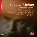SVJATOSLAV RICHTER PLAYS BRAHMS