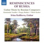 REMINISCENCES OF RUSSIA / GUITAR