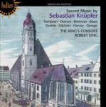 SACRED MUSIC BY SEBASTIAN KNUPFER / THE KING'S CONSORT