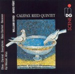 Byrd / Calefax Reed Quintet / Part / Wessel - Calefax Reed Quintet Plays William Byrd & Arvo Part CD