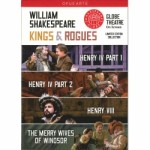 KINGS AND ROGUES / WILLIAM SHAKESPEARE / 4 DVD