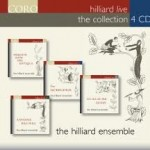 HILLIARD LIVE - THE COLLECTION / HILLIARD ENSEMBLE / 4 CD