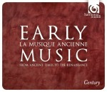 EARLY MUSIC – Century, part 1 / box 10 CD / Harmonia Mundi