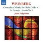 COMPLETE MUSIC FOR SOLO CELLO / MIECZYSŁAW WEINBERG