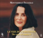 LA VOIX D'EMOTION II / MONSTERRAT FIGUERAS / 1 CD / 2 DVD