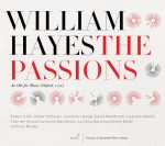 WILLIAM HAYES – The Passions. An Ode for Music Oxford, 1750