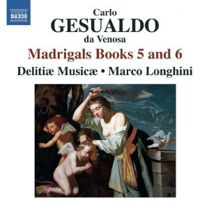 MADRIGALS BOOKS 5 AND 6 / GESUALDO / 3 CD