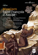 MESSIAEN - Saint Francois d'Assise (De Nederlandse Opera) / 3 DVD / subtitles: EN/FR/DE/ES/IT/NL