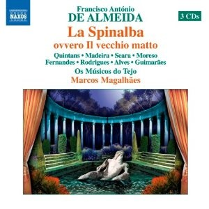 LA SPINALBA / FRANCISCO DE ALMEIDA / 3 CD